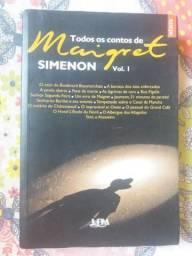 Livro Todos os Contos de Maigret Vol. 1 - Simenon usado