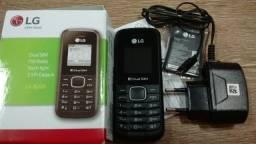 LG B220 dual sim fm o melhor celular simples de marca e baixo custo novo na caixa Poa-rs