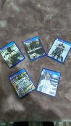 GTA 5, FIFA 18, MK, COD, blodborne
