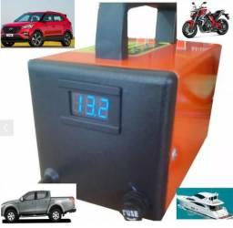 Afonso claudio carregador bateria 12v moto carro camionetes novos