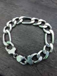 Pulseira 3x1 prata 925