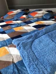 Lindos Cobertores cobredons e cobertas para deixar sua cama linda e quentinha 179$