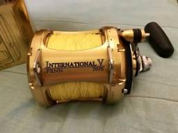 Carretilha Penn international 70vs e vara de pesca da PINNACLE