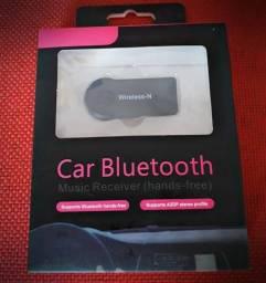 Car bluetooth transforme som do carro em bluetooth