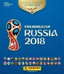 Álbum da Copa do Mundo + 20 figurinhas