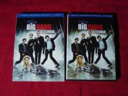 Box Seriado Big Bang A Teoria - 4a Temporada - 3 Dvds
