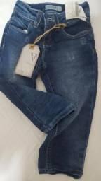 Vendo calça jeans nova tamanho 1