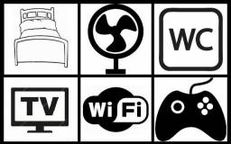 Quarto p/ Trabalhador (2/Pernoite) c/ lanche e internet