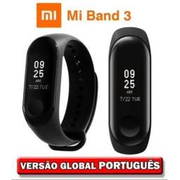 Relógio Inteligente Xiaomi Mi Band 3 Original + Película + 6 Meses de Garantia