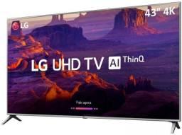 Smart tv LG Led 43? 4K Ultra HD (Nova e Lacrada com NF)