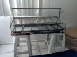 Vendo estufa para lanchonete com 12 bandejas