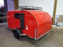 Mini trailer para 2 pessoas