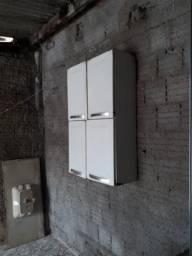 Paneleiro duplo em aço armário branco