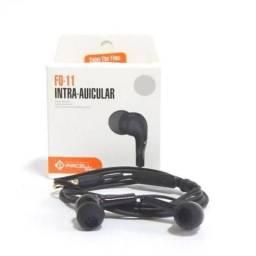 Fone de Ouvido Com Fio Altomex Bluetooth Android celular IPhone