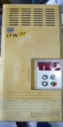 Inversor de Frequência WEG CFW 07 380V 16A 10CV