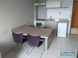 Apartamento com 1 dormitório à venda, 34 m² por R$ 120.000,00 - Turista I - Caldas Novas/G