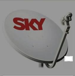 Antenas TV por assinatura usadas.