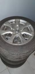 Rodas Honda original civic g9 2012 pneus meia vida