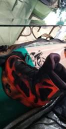 Kit Wakerboard Prancha Liquid 141 + Bota Ronix parks Completo Qualidade