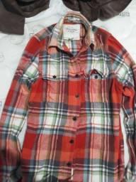 Camisa Flanelada Abercrombie & Fitch