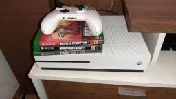 Xbox one s troco por ps4 de 1t dou volta dependendo do valor