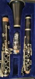 Clarinete Selmer Deposé Francesa Ebano, sib 17 chaves