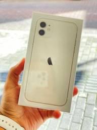 IPhone 11 128GB Branco - Desbloqueado (NOVO)