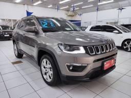 Jeep Compass Longitude 2.0 Flex Automático 2021 com 2.900 km