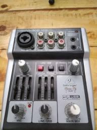 Interface Behringer Xenyx 302usb