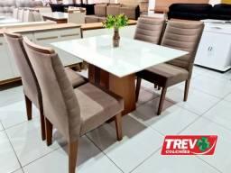 Título do anúncio: Mesa Italia - 4 Cadeiras