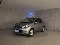 Título do anúncio: Nissan March SV 1.6 16V Flex Fuel