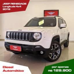 Título do anúncio: Jeep Renegade Longitude 2.0 TB Diesel 4X4 AUT