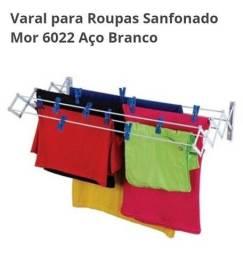 Título do anúncio: Varal de Roupa Sanfonado 1m MOR