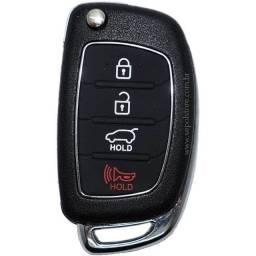 Título do anúncio: Carcaça Chave Canivete Hyundai 4B