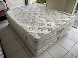 cama box queen size Maxflex semi nova