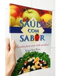Título do anúncio: Livro Saúde com Sabor Receitas Saudáveis