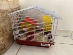 Gaiola hamster com dois bbs
