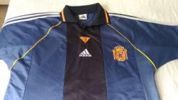 Espanha 1998 Segunda Camisa Tamanho G