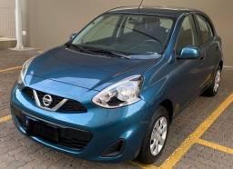 Nissan March S 1.0 12V Flex 5P com apenas 48.000 KM