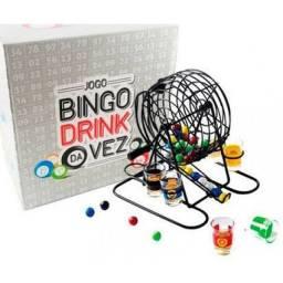 Jogo Bingo Drink da Vez