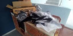 Kit Plásticos CRF 230 preto