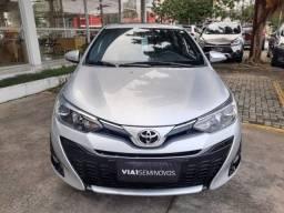 Título do anúncio: Toyota Yaris XLS 1.5 CVT - 2019 - Novíssimo, Revisado e C/ Garantia