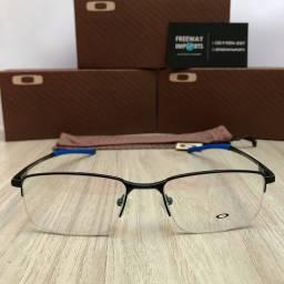 Óculos Oakley Kant blue armação de alumínio