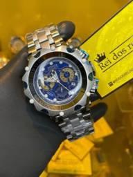 Título do anúncio: Relógio invicta Venom hybrid prata lacrado