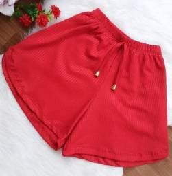 Shorts canelados kit com 03 unidade ( tamanho G)