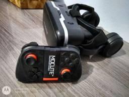 Óculos VR + Controle