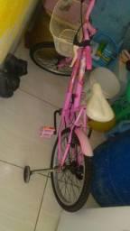 Bicicleta da Barbie infantil 170,00