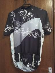 Blusa para ciclismo feminina M