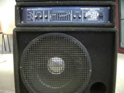 Título do anúncio: Amplificador Cabeçote Contra Baixo Hartke Ha2000