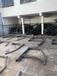 Todas laterais e caixas de ar de diversos veículos